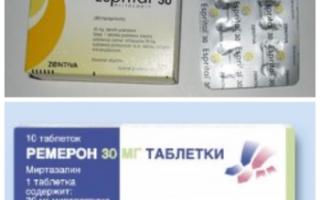 Миртазапин: инструкция по применению, отзывы врачей, цена