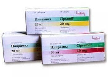 Ципрамил: инструкция по применению, отзывы пациентов и цена