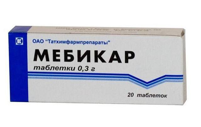 Мебикар: инструкция по применению, цена и отзывы врачей