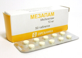 Мезапам: инструкция по применению, отзывы врачей, цена